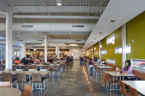 Revive Garst And Blair Shannon Dining Centers Bnim