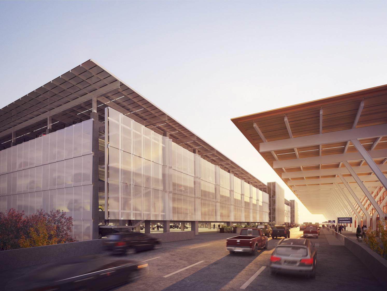 Art Enhances Passenger Experience at the Future KCI Airport Garage
