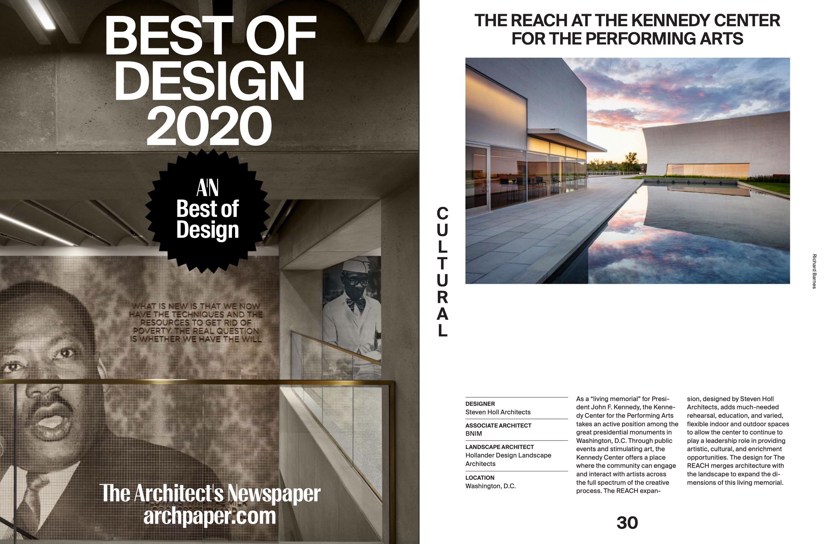 The REACH is among AN's Best of Design Awards of 2020