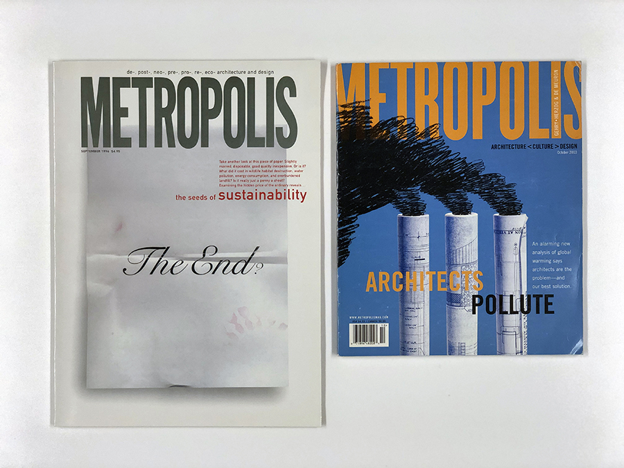 "BNIM featured in Metropolis ""A Quiet Revolution: The Origins of Sustainable Design in the United States"" by Lance Hosey"