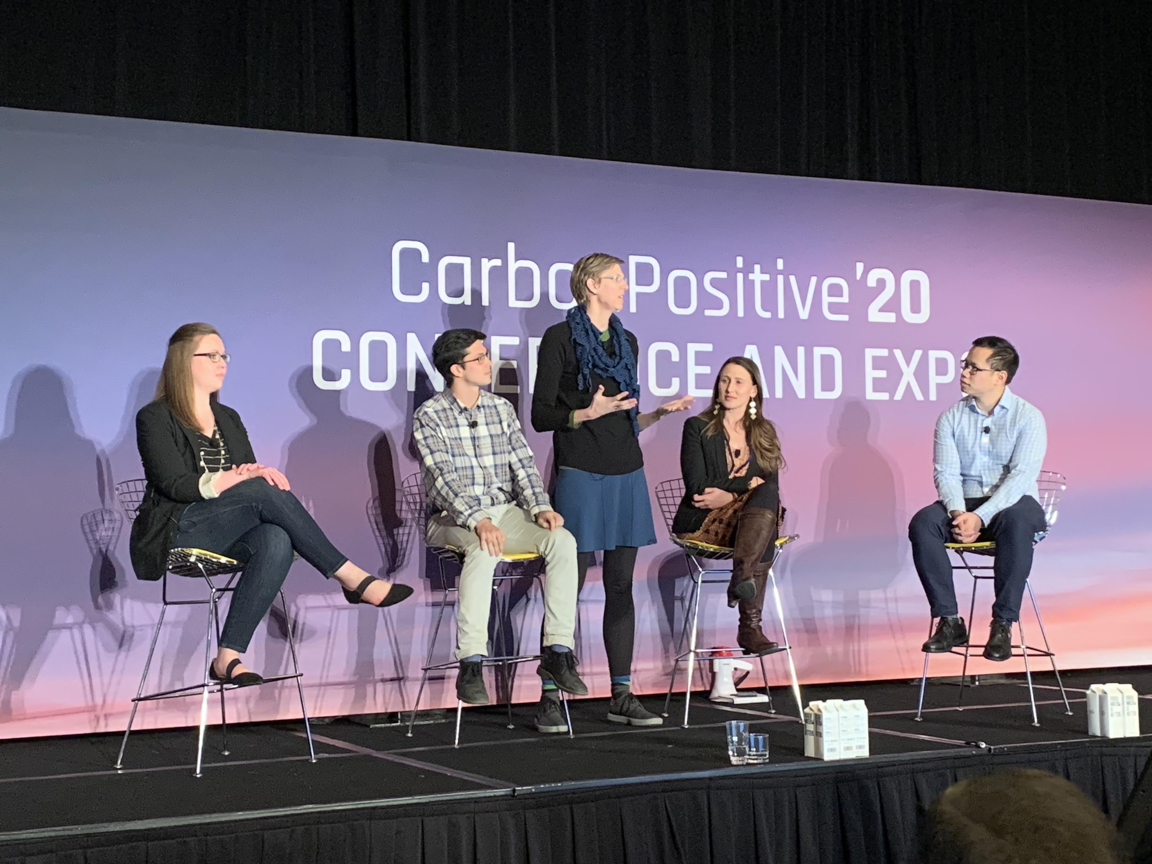 Jeremy Knoll attends CarbonPositive '20 Conference