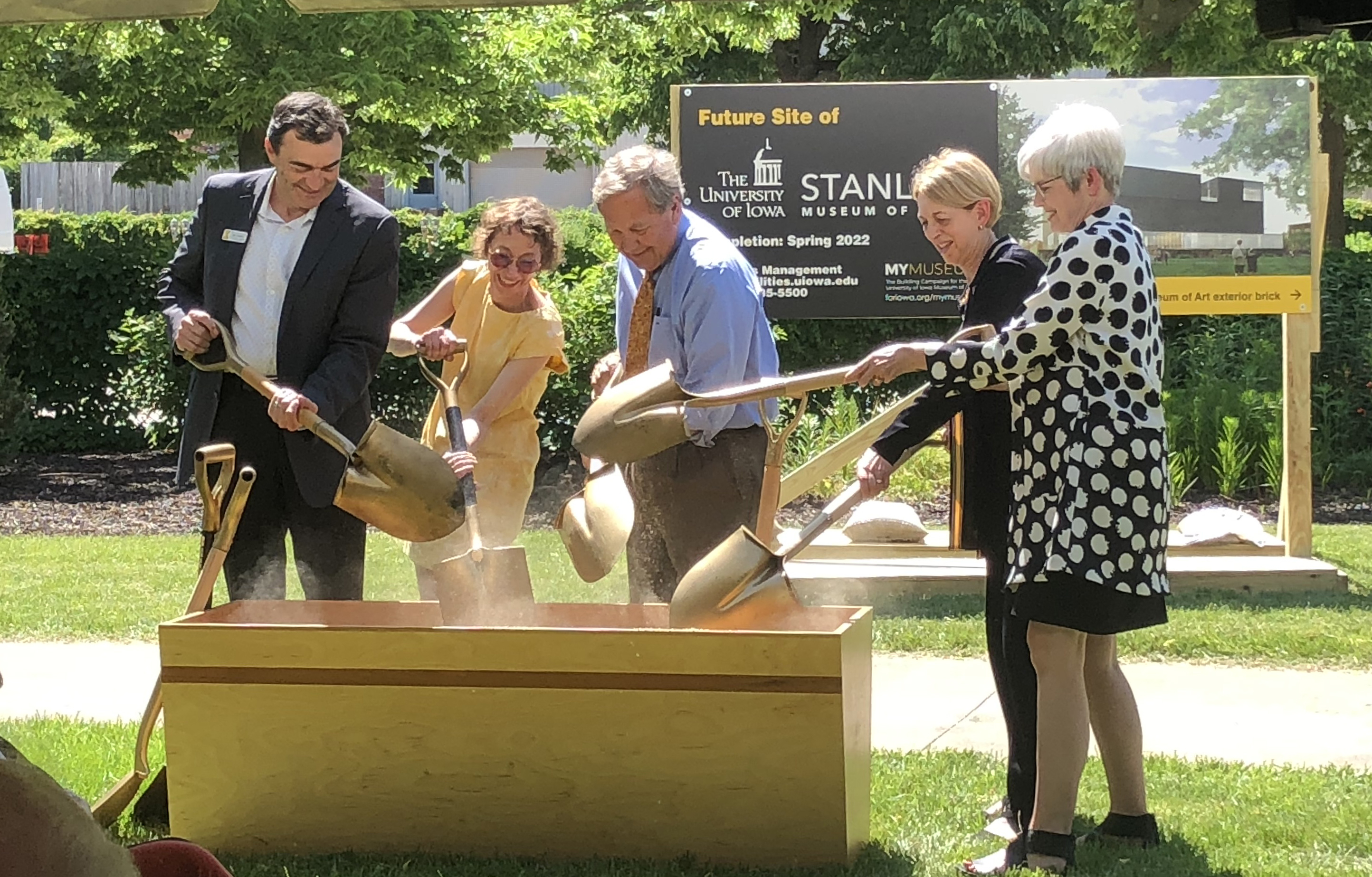 Stanley Museum of Art Ceremonial Groundbreaking