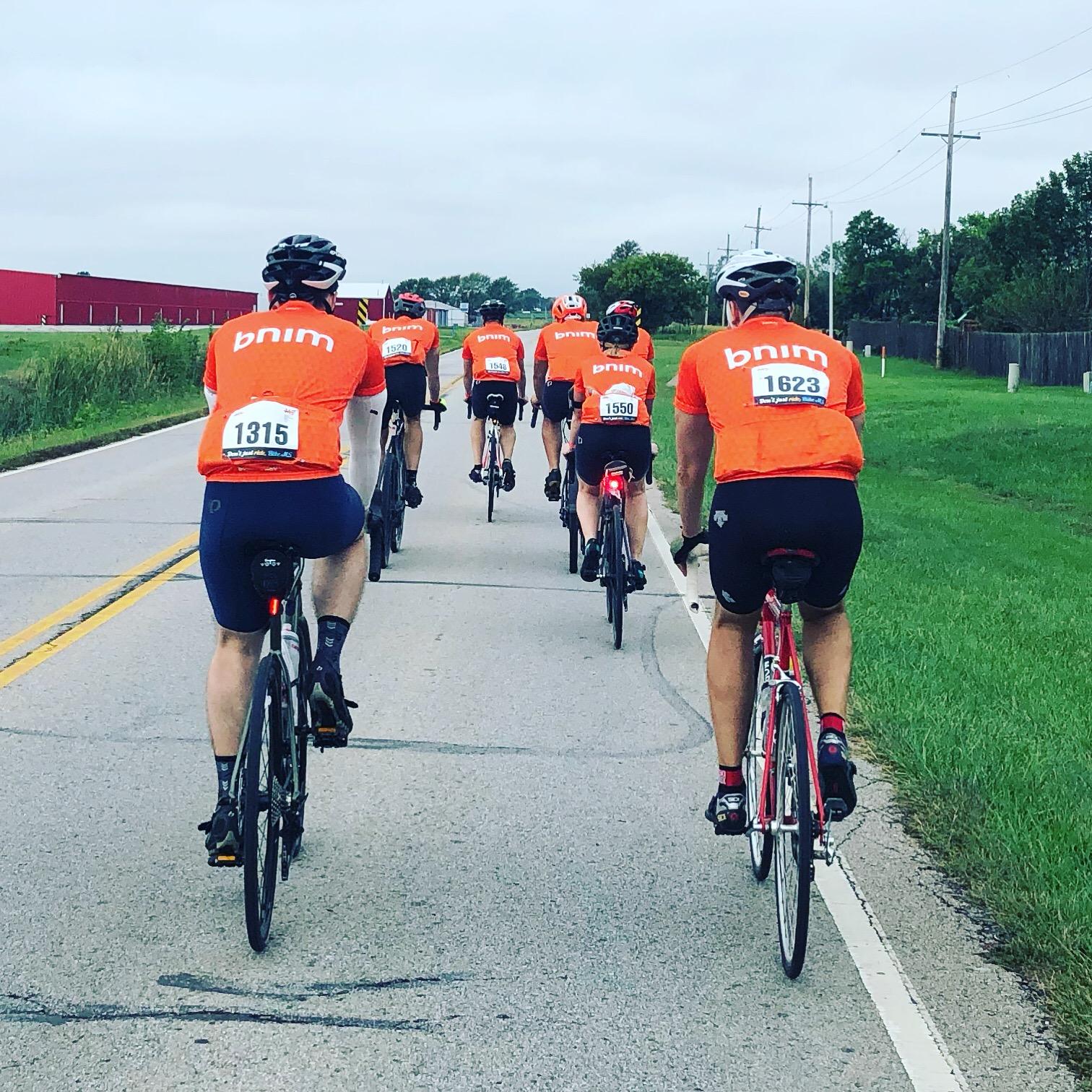 BNIM Rides and Raises for Bike MS