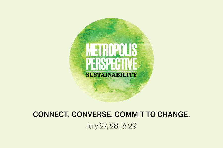 Jeremy Knoll and Sarah Hirsch participate in Metropolis Perspective: Sustainability Symposium 2020