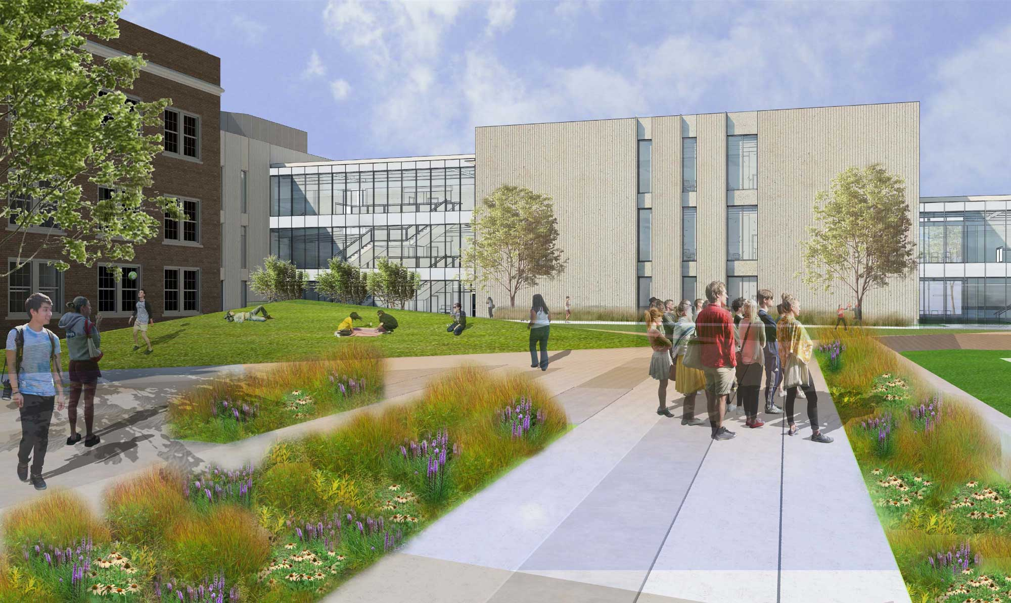 "BNIM-designed New North Kansas City High School Breaks Ground - ""Demo Day"" Kicks Off Major Renovations"