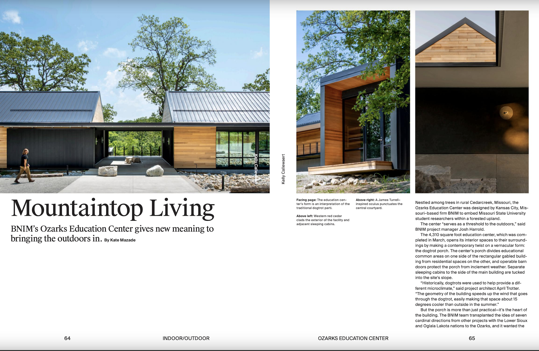 Ozarks Education Center Featured in Fall Issue of AN Interior