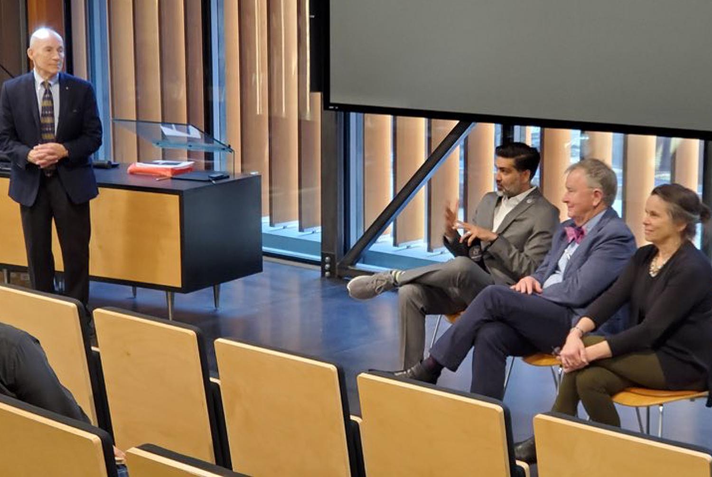Steve McDowell presents at KU Health & Wellness Symposium