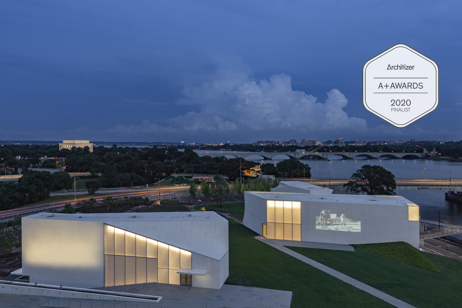 The Kennedy Center REACH expansion nominated in 8th Annual Architizer A+Awards Popular Choice categories