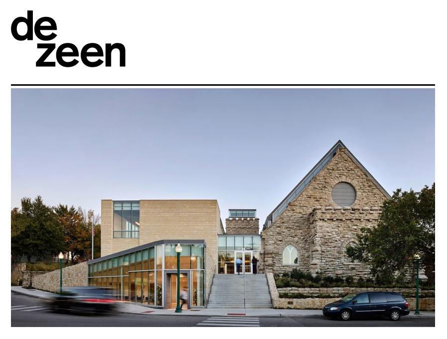 Westport Presbyterian Church on Dezeen