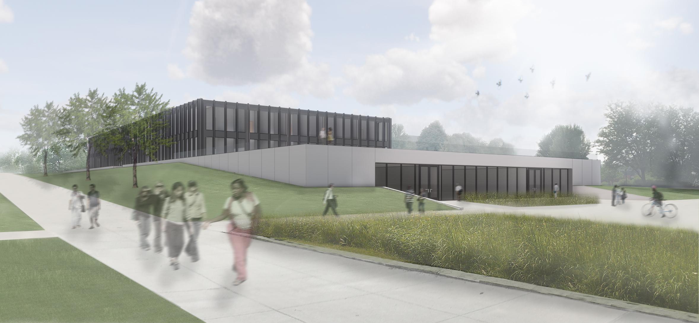 Drake University to start major building renovations to Mies' Meredith Hall