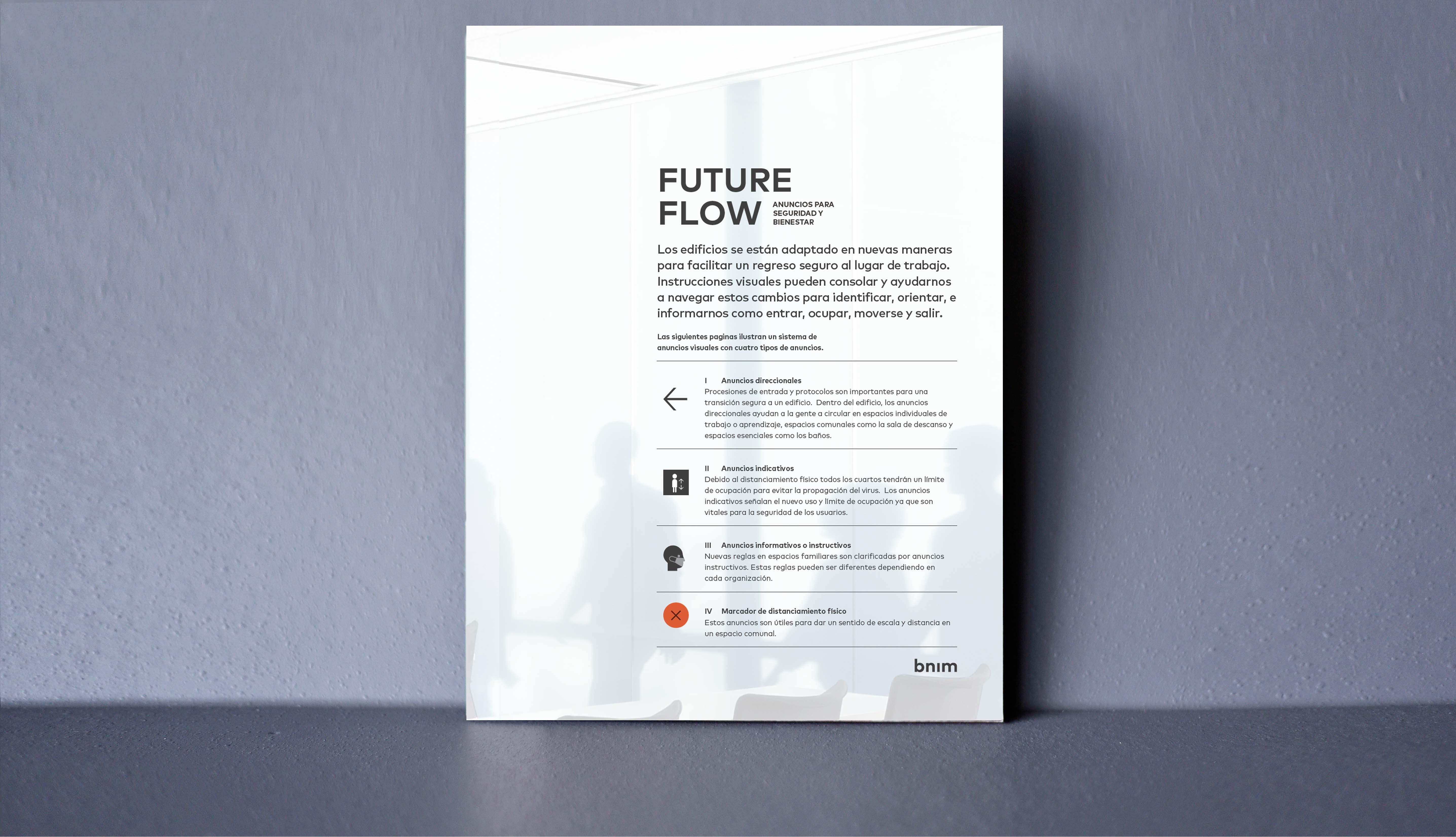 Future Flow Signage - Spanish Version
