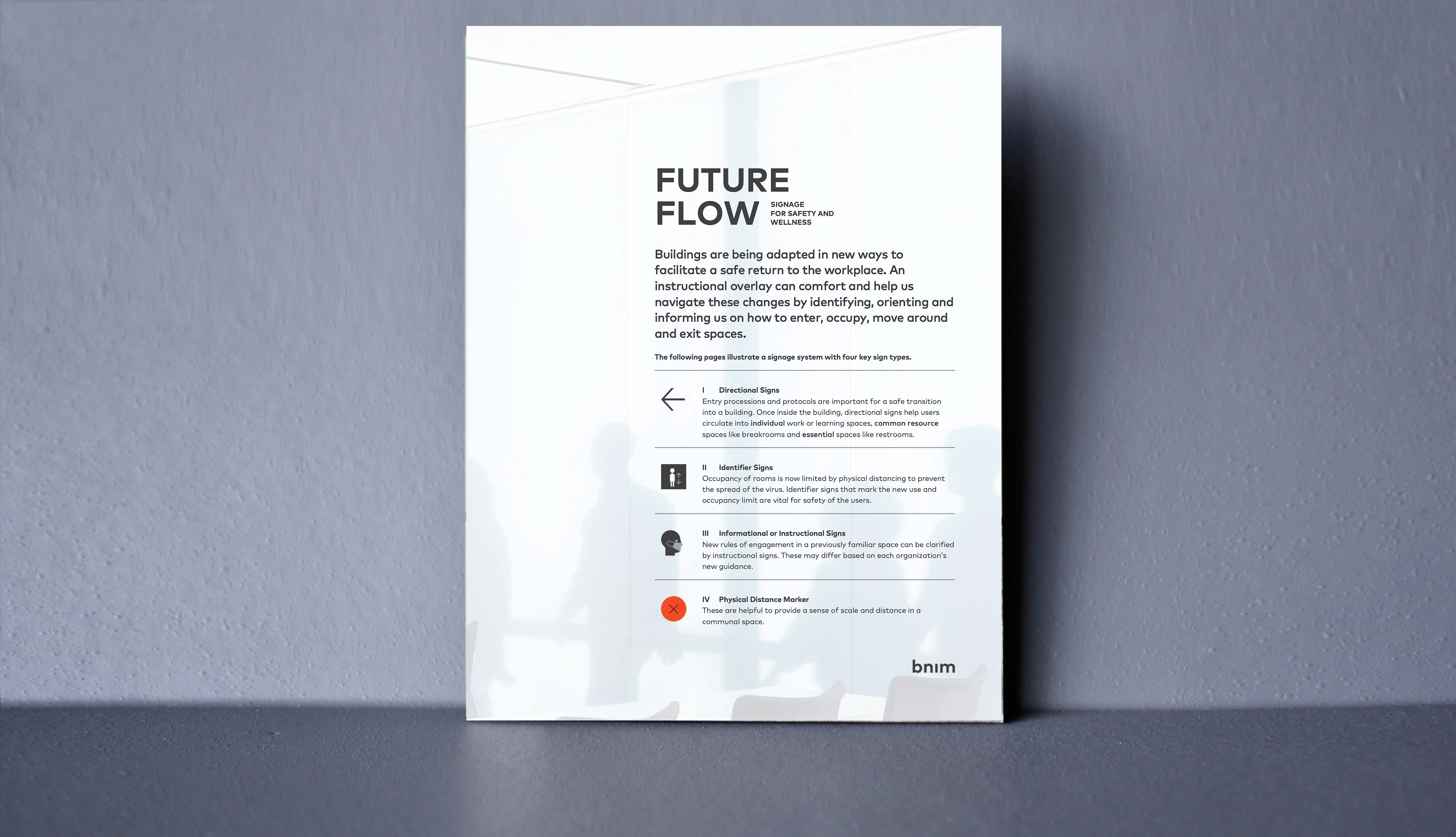 Future Flow Signage - Designing for Continuity and Resiliency