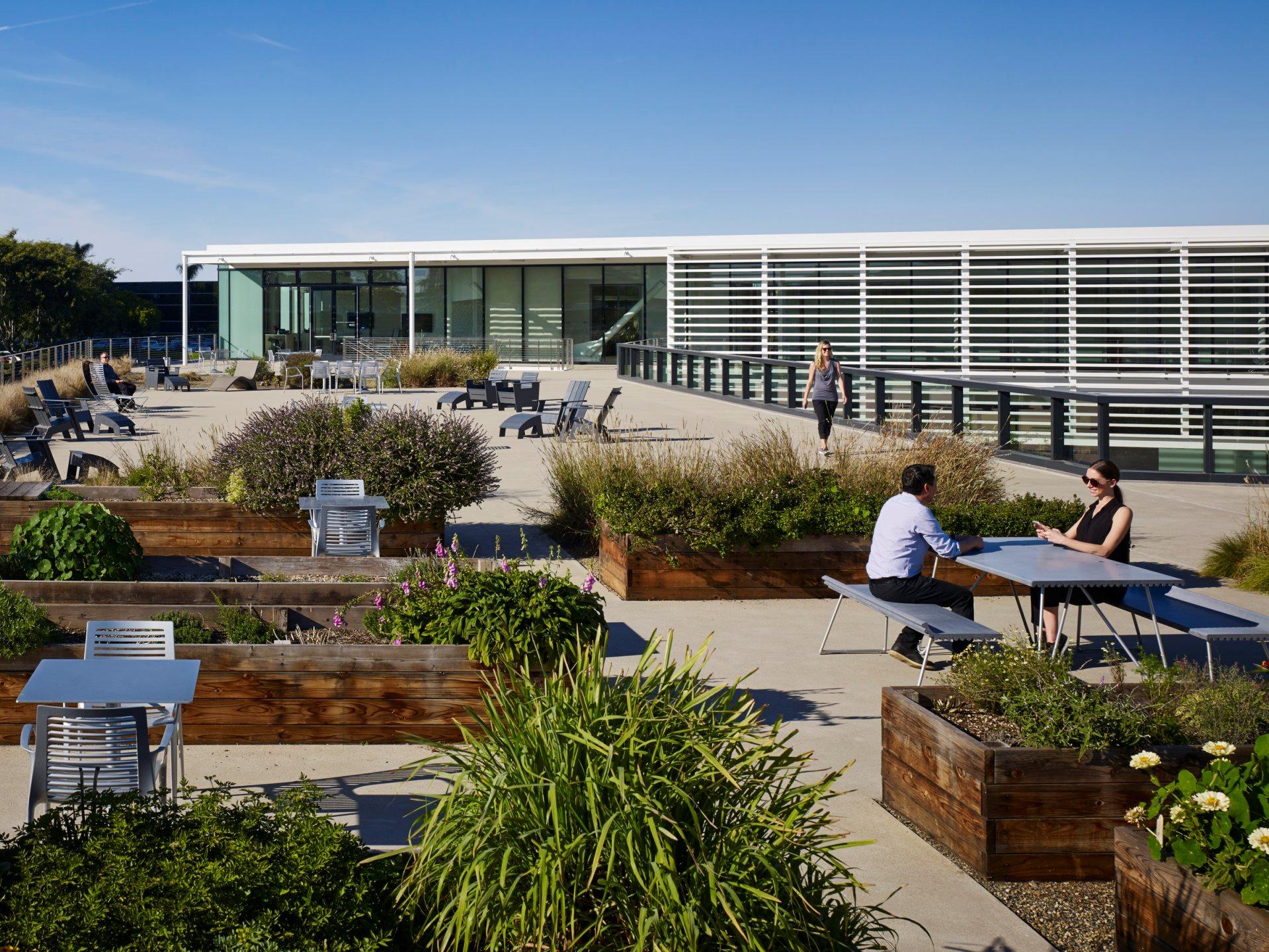 Pacific Center Campus Development Amenities Building